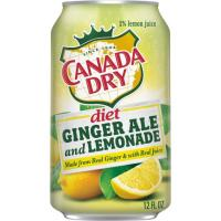 Print a coupon for $0.75 off any 12-pack of cans of Diet Canada Dry Ginger Ale and Lemonade