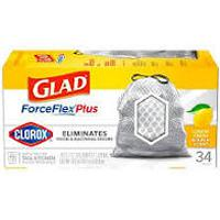 Print a coupon for $1 off one box of Glad ForceFlex Plus Trash Bags (13 Gallon)