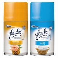 Print a coupon for $1 off one Glade Automatic Spray Refills or PlugIns Scented Oil Refill