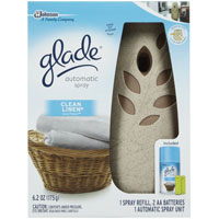 Print a coupon for $1 off two Glade Automatic Spray Refills