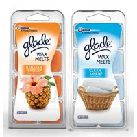 Save $1 on any two Glade Wax Melts 6ct. Refill