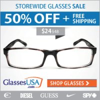 Eye Glass Savings - Get 15% cash back on all online orders from Glasses USA