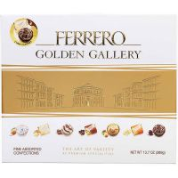 Print a coupon for $1 off one package of Ferrero Golden Gallery Signature Candy