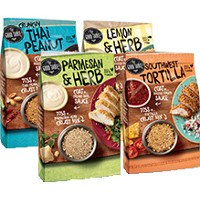 Print a coupon for $1 off any two The Good Table Sauce + Crust Mix for Chicken or Fish