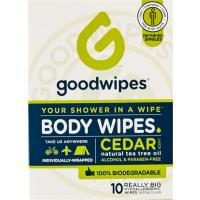 Print a coupon for $1.25 off two GoodWipes products