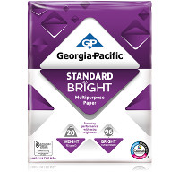Save $0.75 on one ream of Georgia-Pacific Copy and Printer Paper with ColorLok Technology