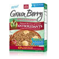 Print a coupon for $2 off a box of Grain Berry Cereal