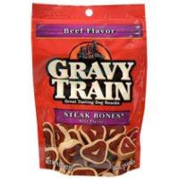 Print a coupon for $0.50 off two Gravy Train dog treats