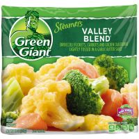 Save $0.80 on four pacakages of Green Giant Frozen Vegetables
