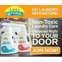Get 50 Loads of 100% Naturally non-toxic laundry soap Free