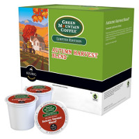 Save $1.50 on two Green Mountain Coffee Autumn Harvest Blend K-Cup Pods