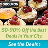 Save With Groupon. Restaurants, Salons and Events up to 90% off! Find deals in your city