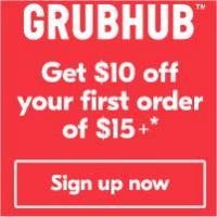 Order on Grubhub and get free delivery on your first order of $15+ - find what you crave on Grubhub