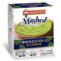 Print a coupon for $1 off two Hanover Mashed, Proteins or Riced products