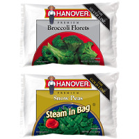 Save $1 on two bags of Hanover Gold or Silver Line Frozen Vegetables