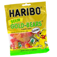Save $0.30 on any bag of Haribo Sour Gold-Bears