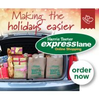Save time and money - Order your groceries online from Harris Teeter Express Lane