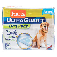 Save $2 on one package of Hartz Ultimate Absorption Dog Pads