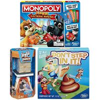 Print a coupon for $3 off Hasbro  Monopoly Cheater's Edition, Junior Electronic Banking, or Ultimate Banking