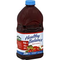 Save $1 on any two Healthy Balance reduced-sugar juice drinks