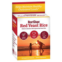 Print a coupon for $4 off any HeartShape Red Yeast Rice product