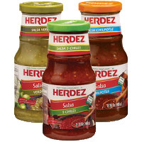 Print a coupon for $0.55 off one Herdez product including salsa