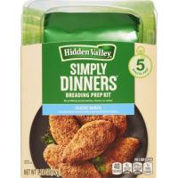 Print a coupon for $1 off one Hidden Valley Simply Dinners Breading Prep Kit