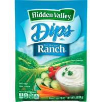 Print a coupon for $0.75 off one Hidden Valley Ranch Dip
