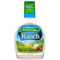Print a coupon for $0.50 off a bottle of Hidden Valley Ranch Dressing, 12oz. or larger