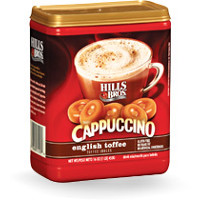 Save $0.55 on one canister of Hills Bros. Cappuccino, 12oz or larger