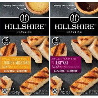 Save $0.75 on one package of Hillshire Snacking Grilled Chicken Bites