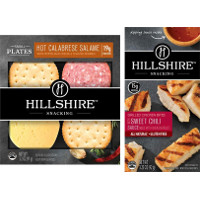 Save $0.75 on one package of Hillshire Snacking Small Plates or Grilled Chicken Bites