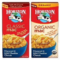 Sign up to print coupons for Horizon Mac and Cheese and other Horizon products