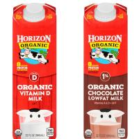 Print a coupon for $1 off any three Horizon Organic Single Serve Milks