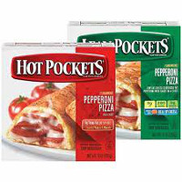Print a coupon for $1 off any three Hot Pockets or Lean Pockets Sandwiches