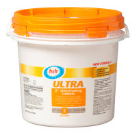 Keep your pool sparkling all summer long with $10 off HTH Ultra 3