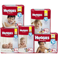 Print a coupon for $3 off one package of Huggies Special Delivery Diapers, 17 count or larger