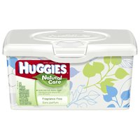 Save $0.50 on a package of Huggies Wipes