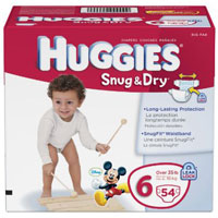 Save $2 on one pack of Huggies Snug and Dry Ultra Diapers