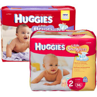 Save $4 on any two Huggies Diapers, Jumbo packs or larger