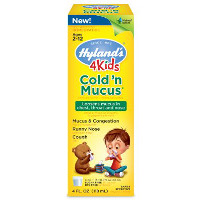 Print a coupon for $1 off Hyland's 4 Kids Cold 'n Mucus