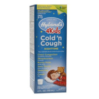 Print a coupon for $1 off Hyland's 4 Kids Cold 'n Cough Nighttime