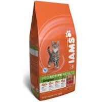 Print a coupon for $2.50 off one bag of Iams Dry Cat Food