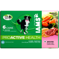 Save $1 on any multipack or six single cans of Iams Canned Dog Food