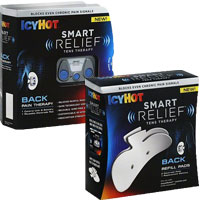 Save $7 on Icy Hot SmartRelief TENS Therapy Starter Kit AND SmartRelief TENS Therapy Refill Kit