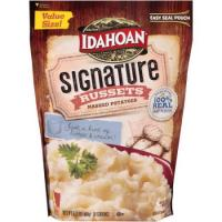 Print a coupon for $1 off any NEW Idahoan Signature Russets Mashed Potatoes
