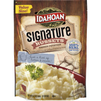 Print a coupon for $1 off Idahoan Signature Russets Mashed Potatoes