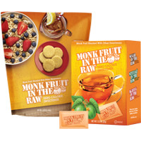 Print a coupon for $0.75 off one Monk Fruit In The Raw Packet Box or Bakers Bag
