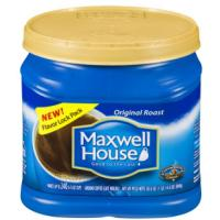 Print a coupon for $1 off Maxwell House Coffee, 42.5oz or larger