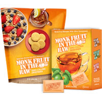 Save $0.75 on any one Monk Fruit In The Raw Packet Box or Bakers Bag